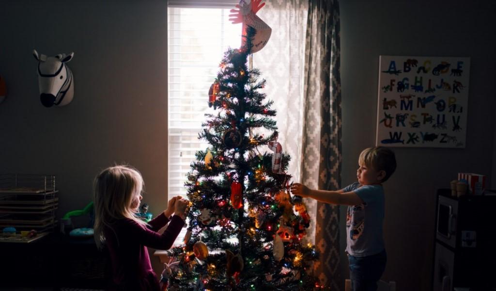 Decorar las ventanas en navidad