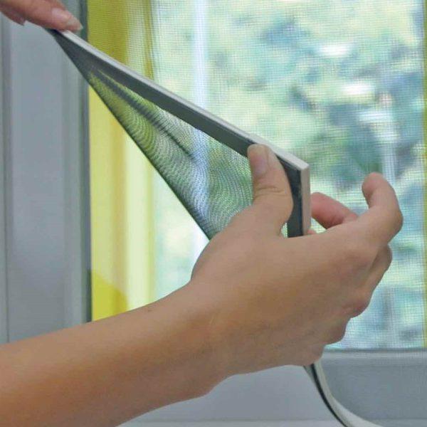Colocación de mosquiteras en ventanas
