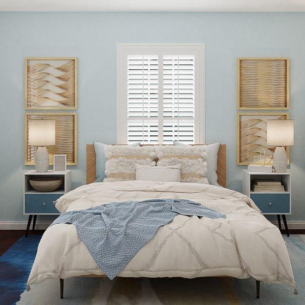 Colocación de la cama en el dormitorio