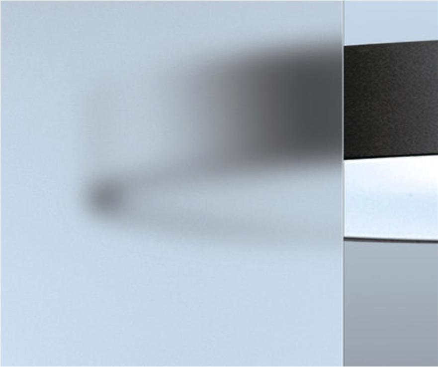 Tipos de vidrio - Vidrio Mate