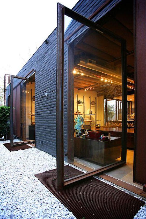 Cerramientos de madera para casas modernas el blog de climalit - Cerramientos de madera ...