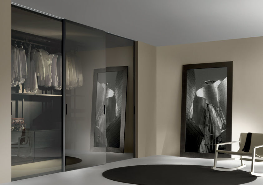 tipos de puertas correderas de cristal climalit
