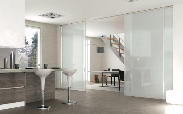 Tipos de puertas correderas de cristal climalit - Puerta cristal cocina ...