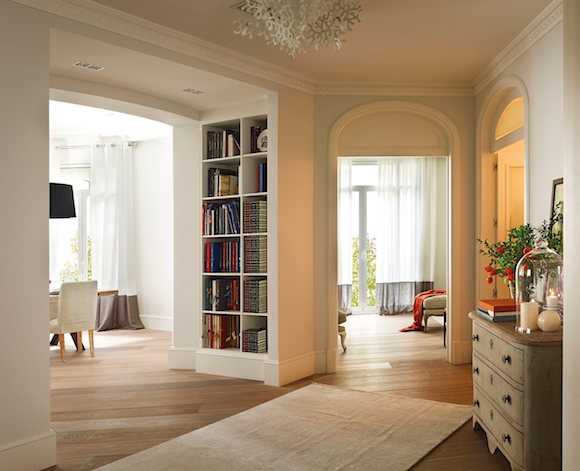 Ideas y consejos para la decoraci n de recibidores for Banco para entrada de casa