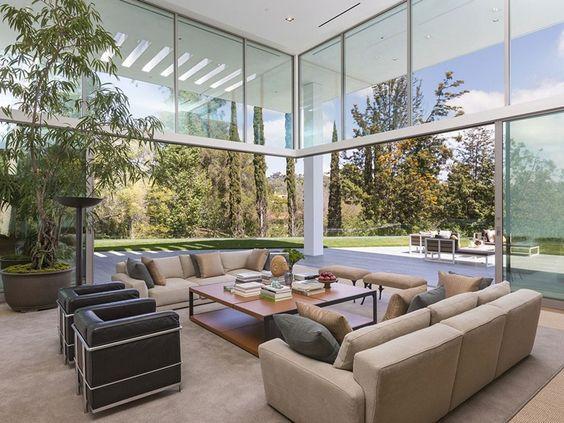 este estilo decorativo puede ser una buena opcin para terrazas acristaladas en ticos o pisos elevados con grandes ventanales y buenas vistas - Terrazas Acristaladas