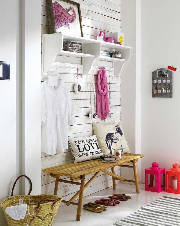 Ideas y consejos para la decoraci n de recibidores - Recibidores con encanto ...