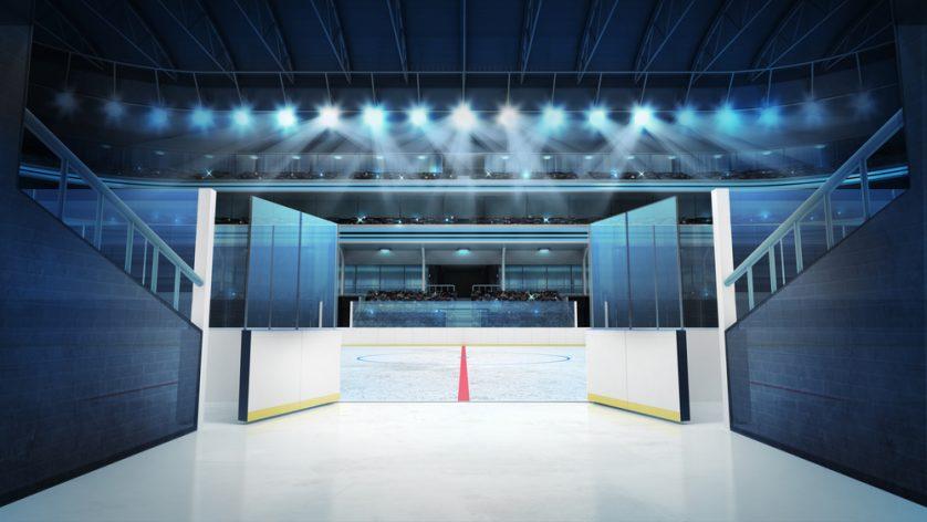vidrio templado estadio deportivo